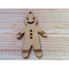 Gingerbread Men D1 laser cut PK10